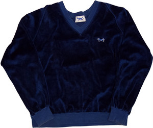 【L】 80s JCPenney ベロアスウェット ″The Fox Velour″