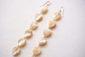 Beige shell heart▶14kgf