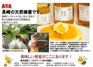 長崎の天然蜂蜜 250g