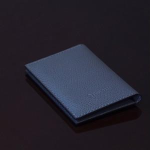 LIVERPOOL DARK Grey / PINETTI DOUBLE BUISINESS CARD HOLDER(リバプール ダークグレー / ピネッティ ダブルビジネスカードホルダー)