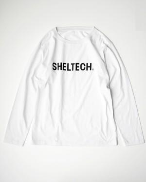 """LOGO""  ロングスリーブTシャツ(WHITE)"
