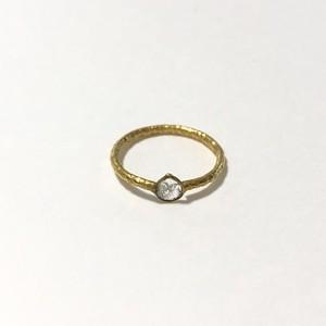【 Imperfect beautiful ring】スライスダイヤのリング