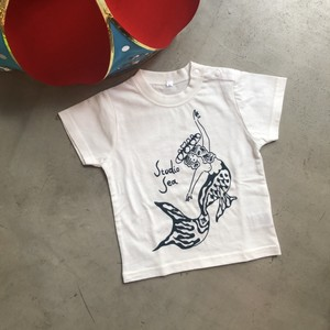 STUDIO SEA/Hanagasa mermaid kids tee