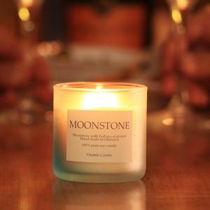 月からの贈り物|ムーンストーンキャンドル