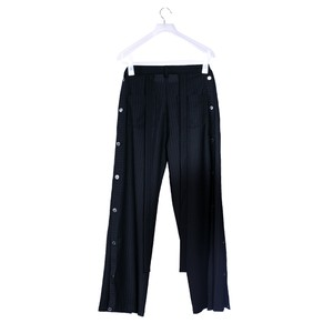 SIDE BUTTON PANTS WITH TAPE