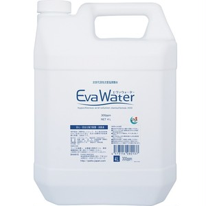 【EW-4L3】弱酸性次亜塩素酸水 エヴァ ウォーター 4L(300ppm)【可以海外运送】