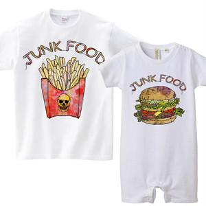 [キッズおそろいコーデ] JUNK FOOD