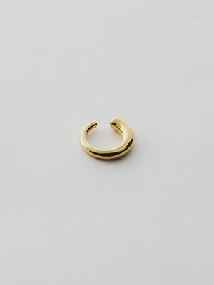 WEISS Asymmetry Ear cuff Gold wei-ecgd-11