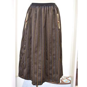 フランネルのフォークロアスカート (WB-6188)