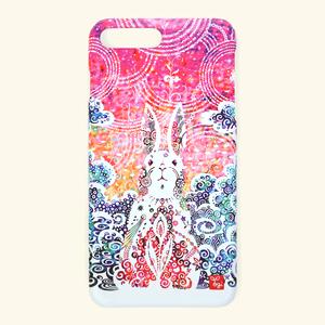 【受注生産】「卯の刻」カバー型iPhoneケース【Lサイズ】