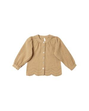 Rylee + Cru/eyelet meadow blouse