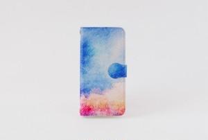 手帳型iPhoneケース「森と、青空」