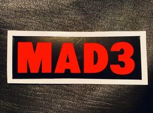 MAD3 Logo Sticker