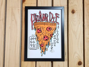 PIZZA Related ART(原画)Lot.1
