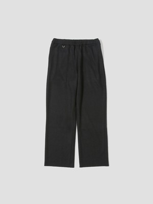 UNDECORATED S140 WOOL KNIT PANTS Black UDF21401