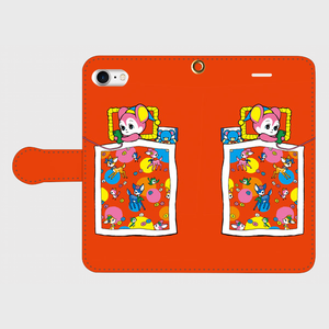 ✳️受注生産✳️ 手帳型iPhoneケース よなよなスマホ依存