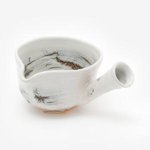 刷毛目点茶碗