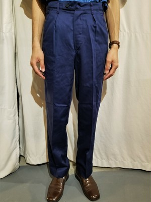 Vintage Swedish army twill pants /Dead stock [N-81]