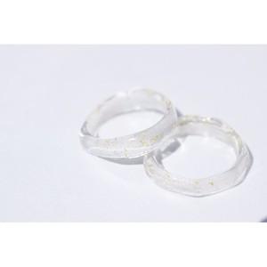 gilt glass ring #1