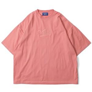 LOGO GARMENT DYED S/S TEE【SALMON PINK】