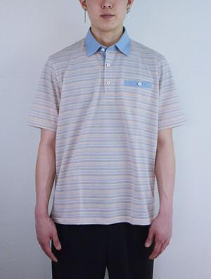 LeCENT【日本製】メンズ 半袖ニットシャツ 59223(S〜2Lサイズ)