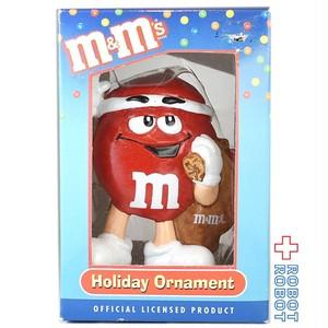 M&M's レッド ギフト ホリデーオーナメント