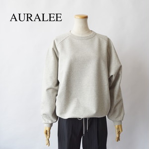 AURALEE/オーラリー ・SUPER SOFT SWEAT DRAW CODE BIG P/O