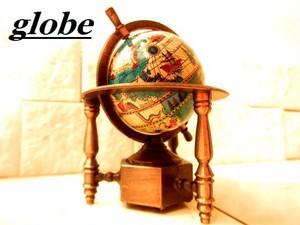 ヨーロッパアンティーク調オブジェ ヨーロピアン 地球儀A  模型  ロココ調