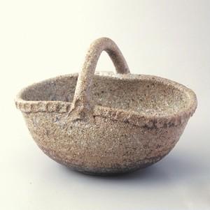 共手付鉢  陶器(信楽焼)製【SO-9748】