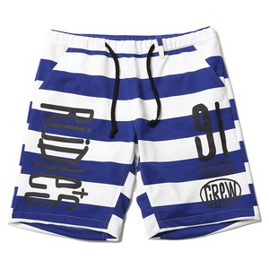 "RUDIE'S / ルーディーズ | "" DRAWING BORDER SHORTS "" BLUE/WHITE"