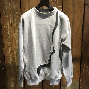 【meagratia】Crew neck sweat P/O