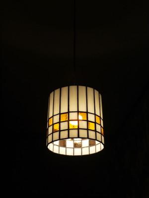ステンドグラス照明(ペンダントタイプ)