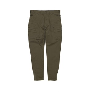 CHINO STRETCHED CARGO TAPERED PANTS - KHAKI