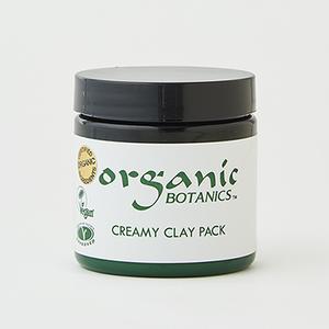 organic BOTANICS クリーミークレイパック 120g