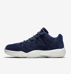 Nike AIR JORDAN XI LOW Re2pect BINARY BLUE