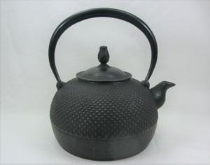 鉄瓶 平丸アラレ(中) 1.4L