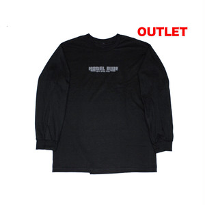 【アウトレット】HOTEL BLUE PRICEDOWN L/S TEE BLACK サイズM