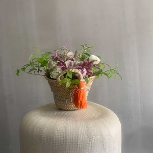 flower basket / marine