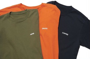 SEASONING SPICE COLOR TEE / SE18W-CT03