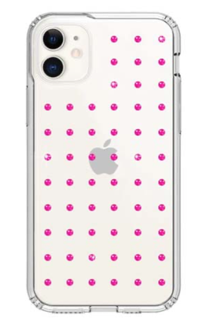 Bling My Thing MINI EXTRAVAGANZA for iPhone11 (NEON PINK×CLEAR)
