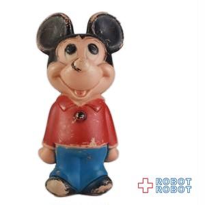 ミッキーマウス ボーリングピン ポリ製フィギュア