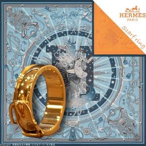 エルメス:ベルトモチーフスカーフリング/GP製/指輪使用時サイズ#22号/HermesHermèsscarfring
