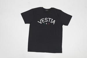 Logo&star Print T-shirt(Black・White)