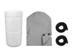 ロングライフセントラル浄水器 防炎・防温カバーセット