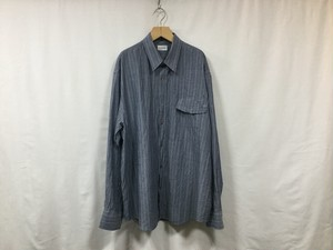 "在庫あり gourmet jeans "" IRREGULAR POCKET SHIRT "" INDIGO ドビー"