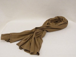 US MILITARY NECKERCHIEF/BROWN