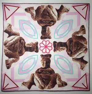 Goddess Hanky Pink / Caroline Paquita