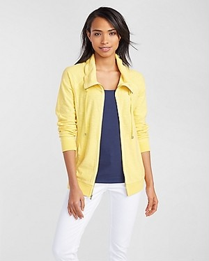 KNOLL FULL ZIP JACKET AF/SUNDRESS