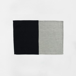HH Placemat Black and Grey