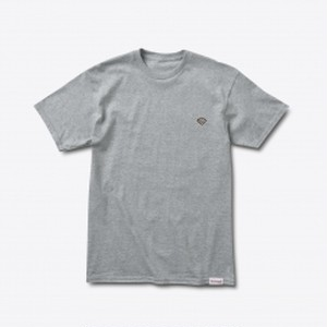 Diamond SUPPLY CO. PATCH TEE HEATHER GREY